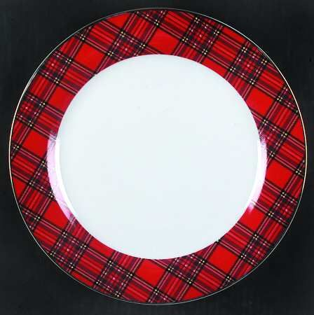 tartan china patterns | vignette design Setting the Table with Christmas Dinnerware & tartan china patterns | vignette design: Setting the Table with ...