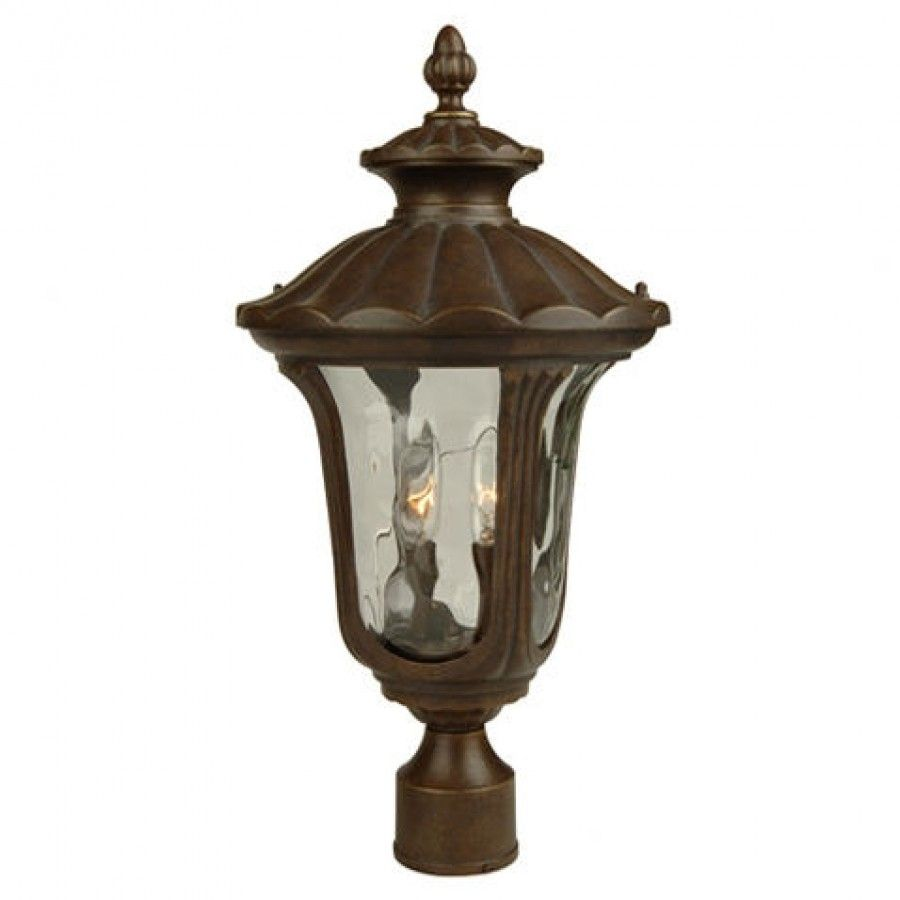 Craftmade Exterior Lighting Sheffield Series Traditional Outdoor Post Lantern In Aged Bronze Z3525 98 In 2020 Post Mount Lighting Post Lights Craftmade