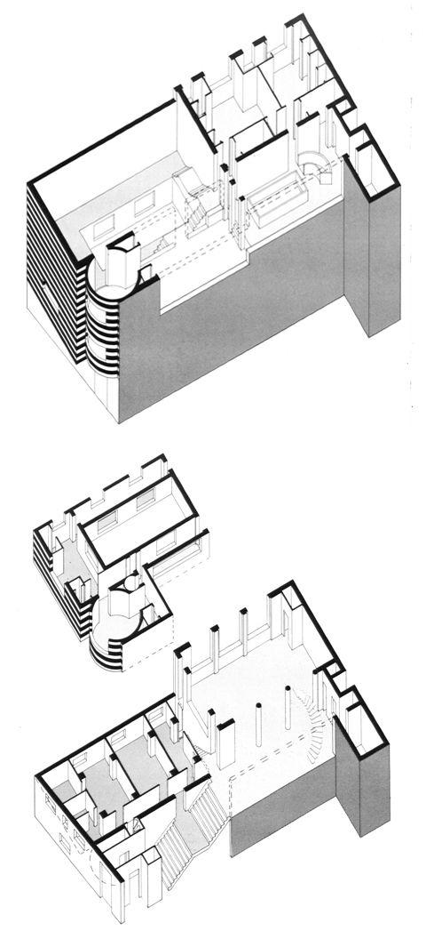 Adolf Loos, House for Josephine Baker, Paris, 1927-28