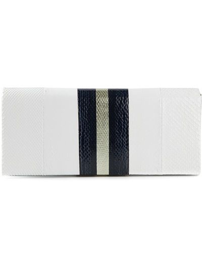 Giorgio Armani Striped Clutch