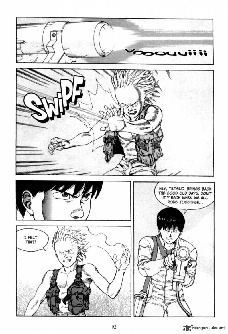 Akira 6 Page 91 Akira Manga Akira Manga Art