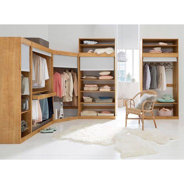 module dressing d 39 angle build rangements astuces pinterest la redoute module et penderie. Black Bedroom Furniture Sets. Home Design Ideas