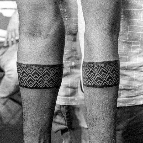 50 forearm band tattoos for men masculine design ideas tattos pinterest forearm band. Black Bedroom Furniture Sets. Home Design Ideas