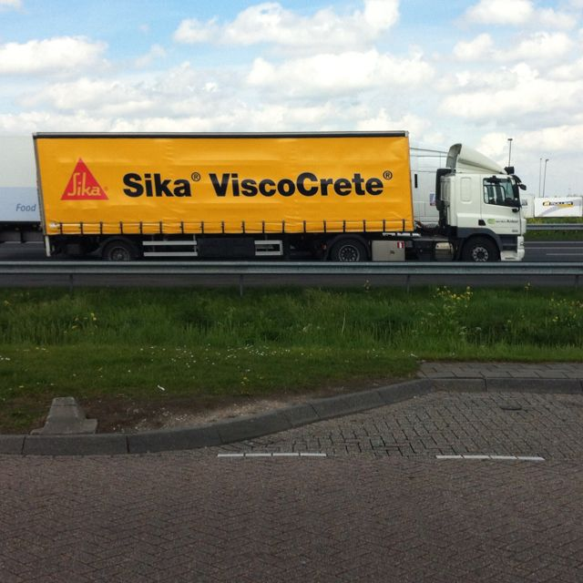 Sika Viscocrete - for large construction projects, this concrete