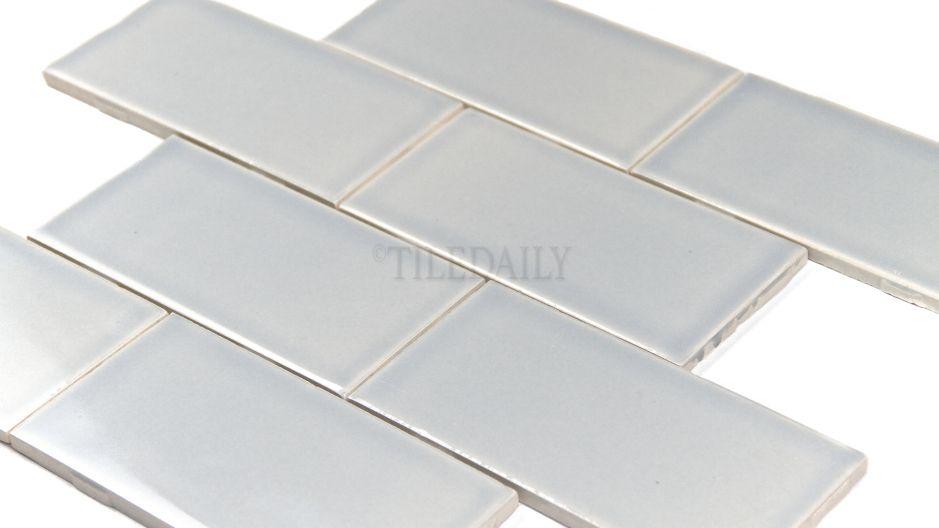 Fine 2 X 6 Glass Subway Tile Thick 2 X 8 Subway Tile Shaped 2X2 Black Ceiling Tiles 2X4 Ceramic Tile Youthful 2X4 Glass Subway Tile Fresh2X4 Subway Tile Backsplash P0034IB   3x6 Ceramic Subway Tile, Ice Blue #tile #tiles #iceblue ..