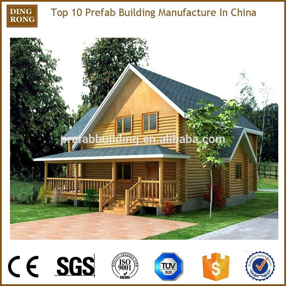 Prefabricated Luxury Small Wooden House Design In Nepal