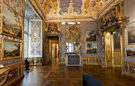 Torino un interno di palazzo madama palazzi italia e museo for Interni ville