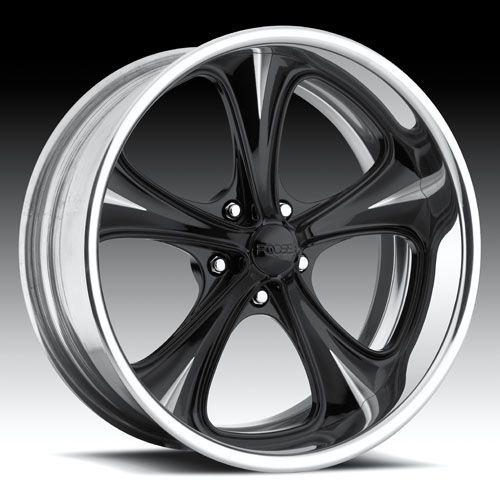 +32mm Black Wheel Rim 5x4.5 Foose F104 Legend SS 20x8.5 5x114.3