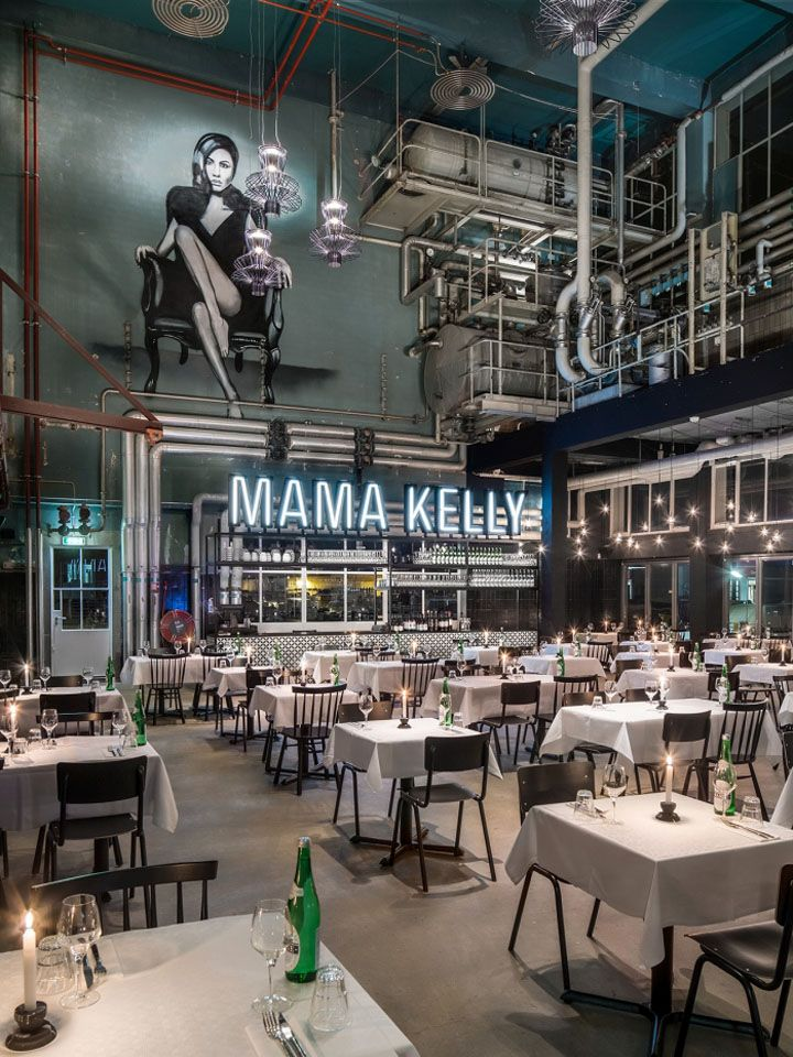 Mama Kelly Urban Bistro Restaurant By De Ca Fabriek The Hague Netherlands Retail Design Blog