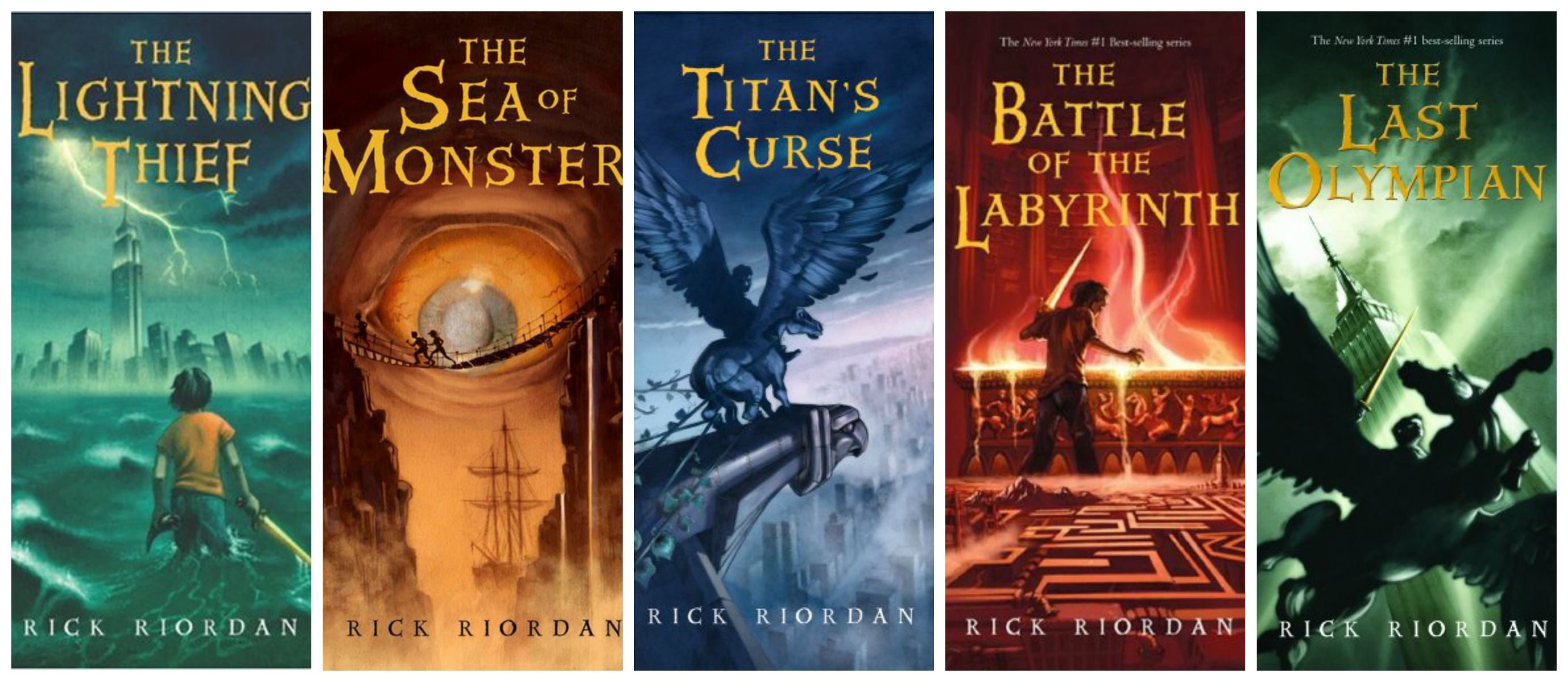 Series Percy Jackson: books in order 70