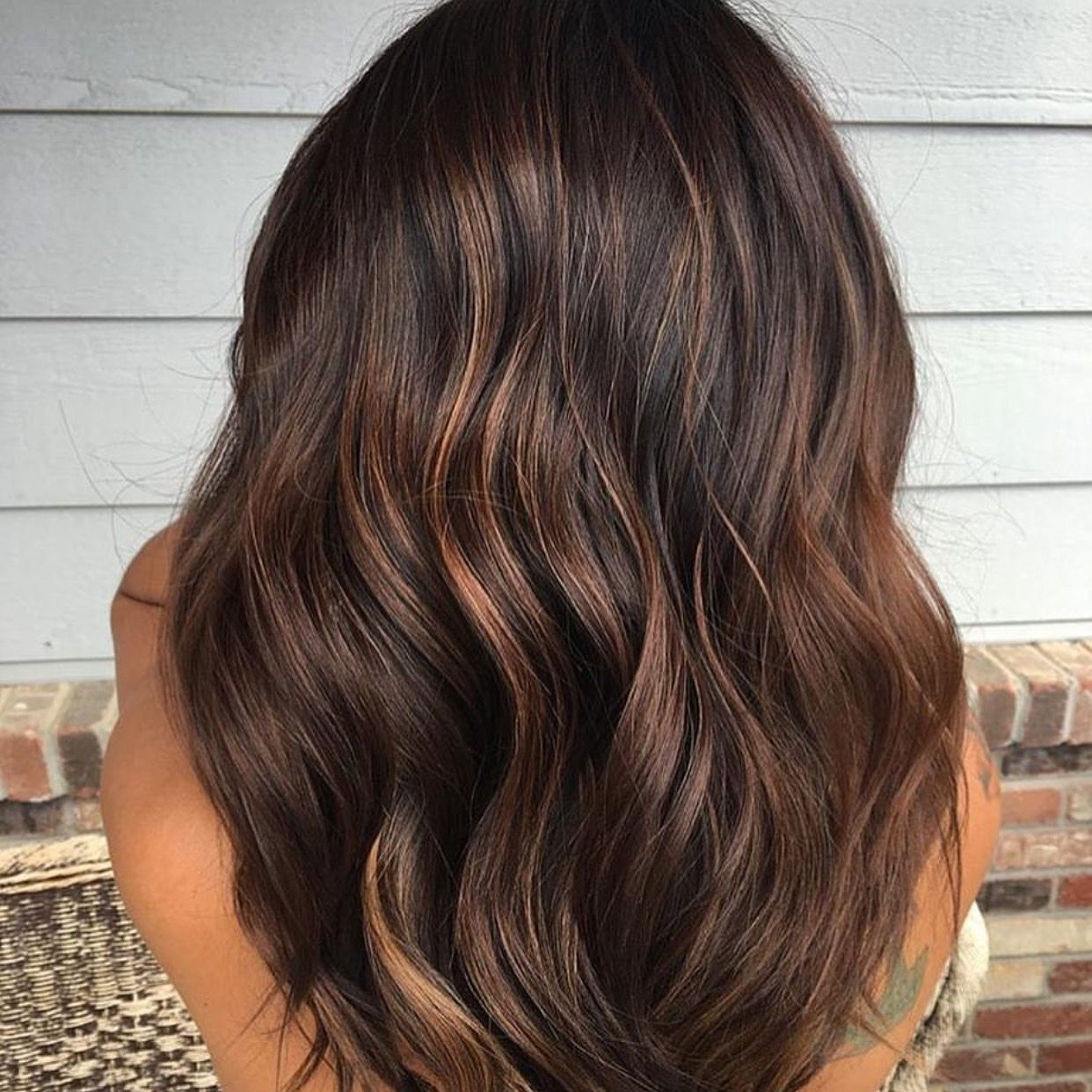 Chocolate Babylights  Hair2019  Iluminacion de cabello