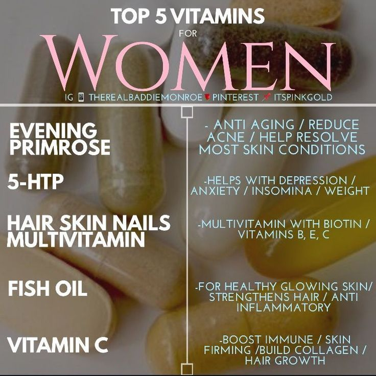 The Best List of Vitamins for Women. Top 5 Vitamins daily supplements. #selfcare #girltips | Tips for girls #vitamins
