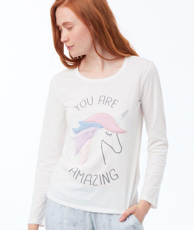 ce32ab2bf5b1 Pyjama 3 pièces imprimé licorne - Etam   Pajamas in 2019   Printed ...