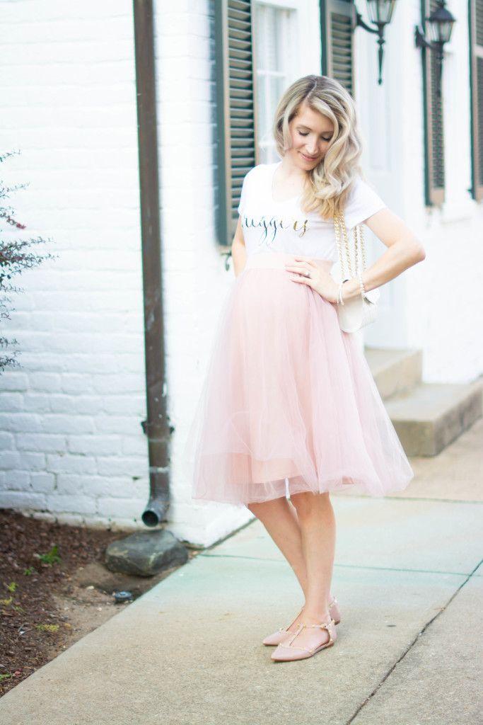 d710df3b93cad Preggerz cute pregnancy top And tulle skirt look   J'adore Lexie Couture