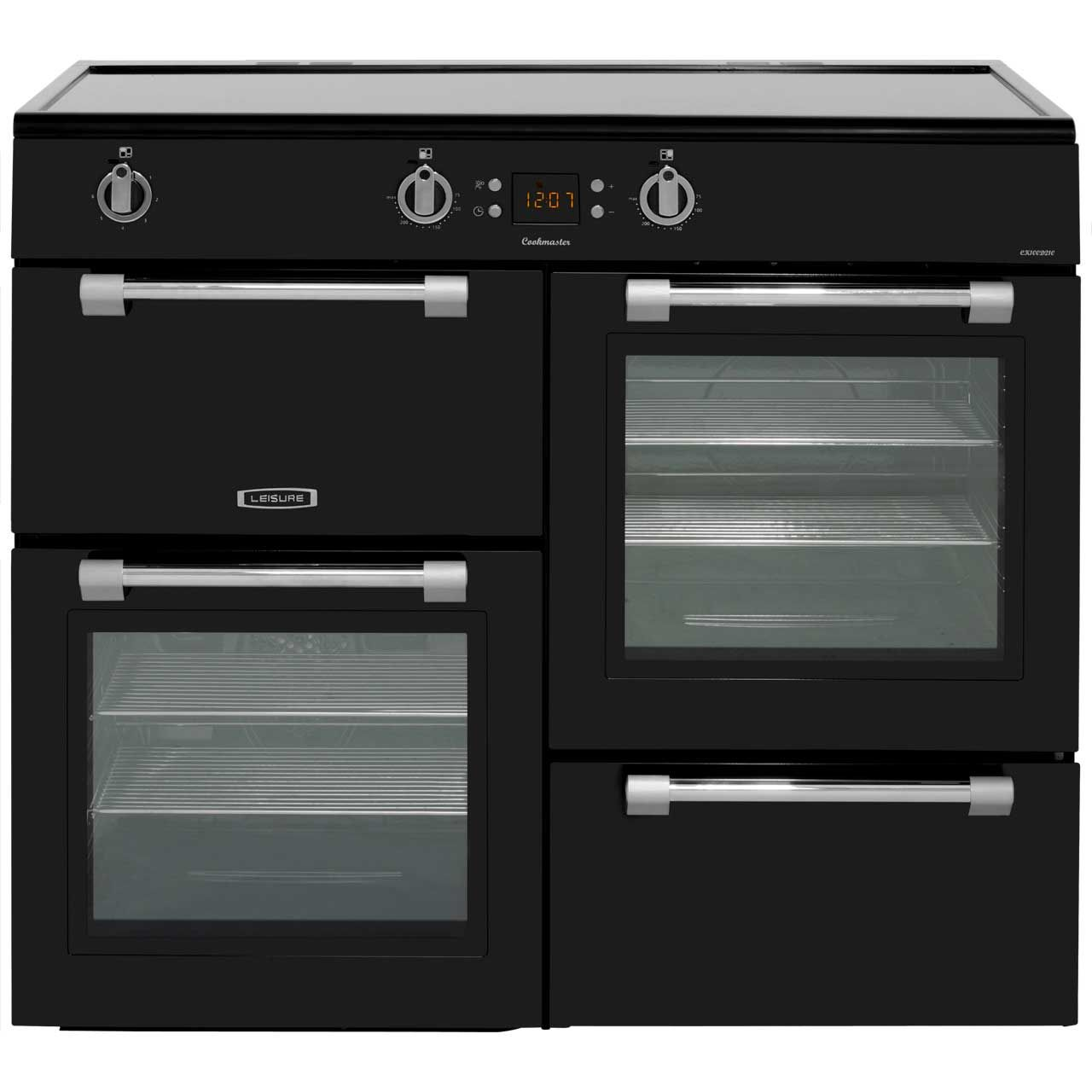 Leisure Cookmaster Ck100d210k 100cm Electric Range Cooker