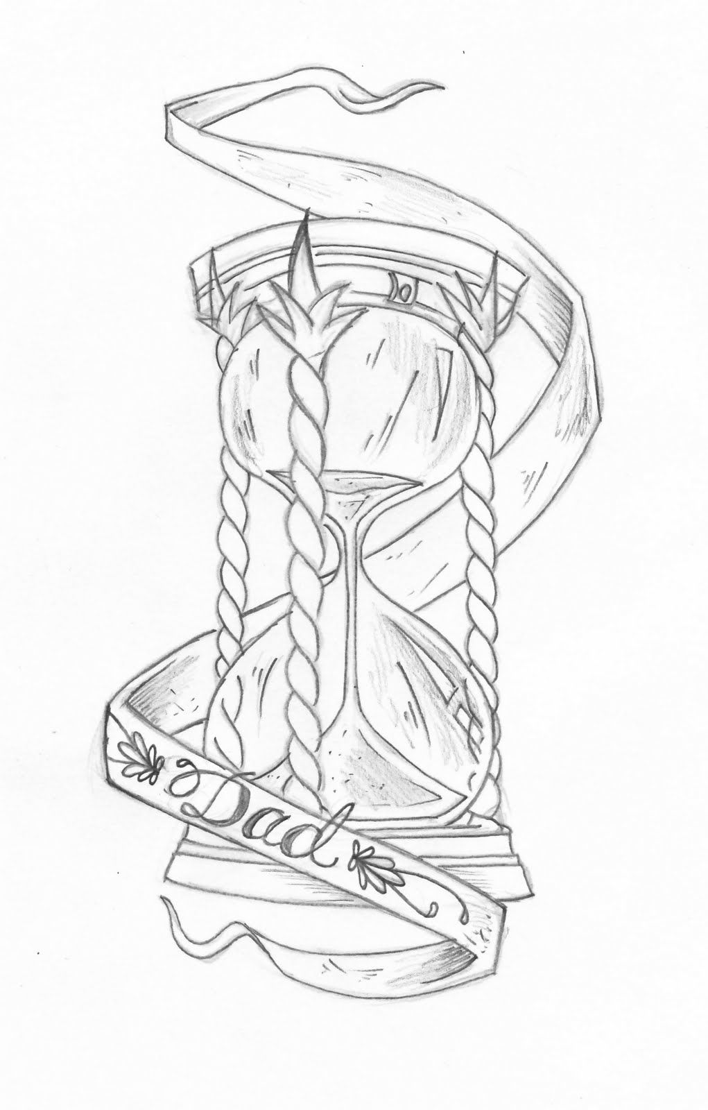Image result for tattoo drawing Hourglass tattoo, Broken