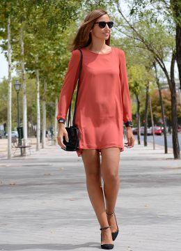 LD COLOR TEJA - TRIANA BY C. Look estilo Lady 2014.