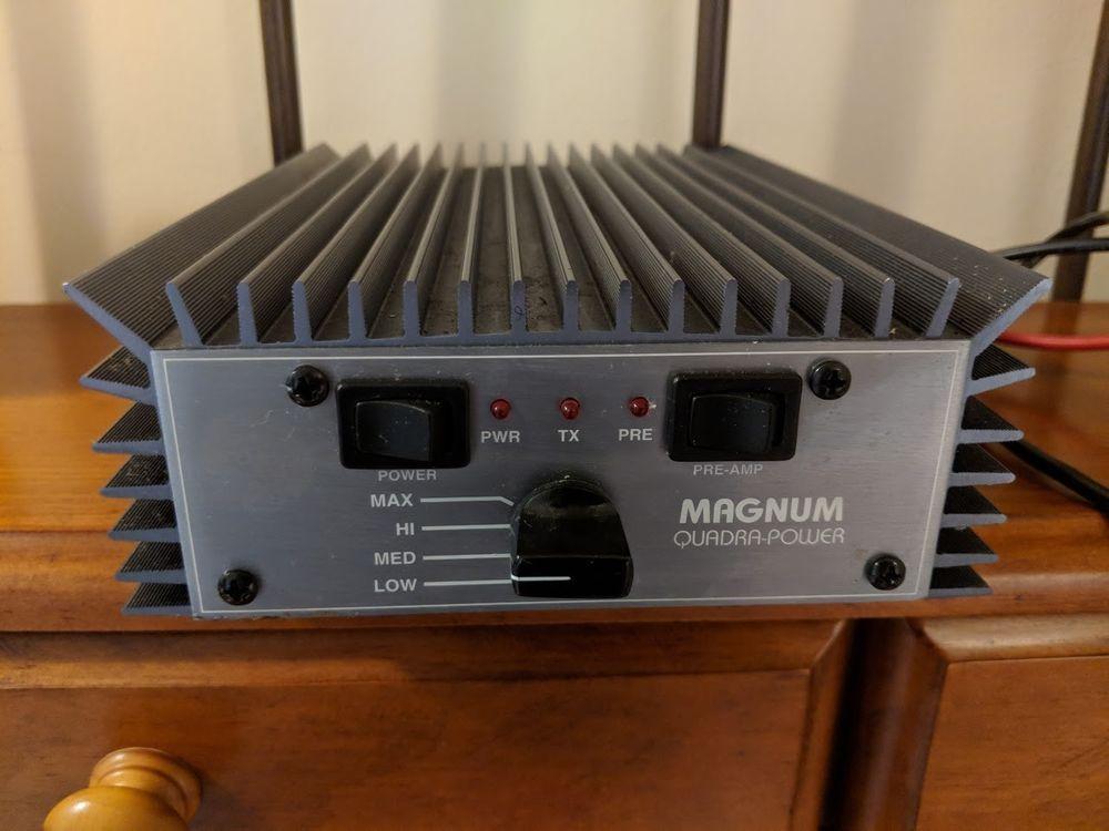 Vintage Palomar MAGNUM QUADRA POWER Linear Amplifier