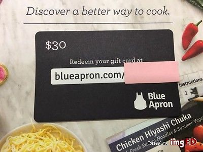 coupons #giftcards blue apron $30 coupon code expires 5/31/2017 ...