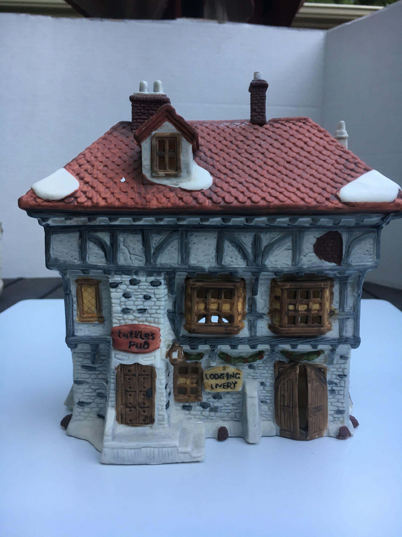 Vintage Tuttle's Pub Dickens Village Series, Retired