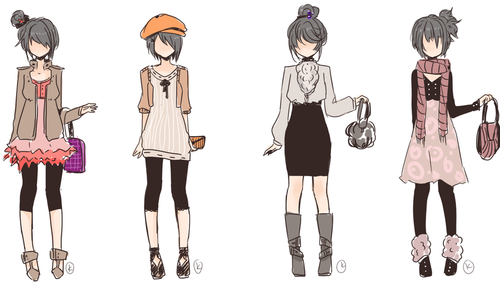 anime full body Google Search Character design girl