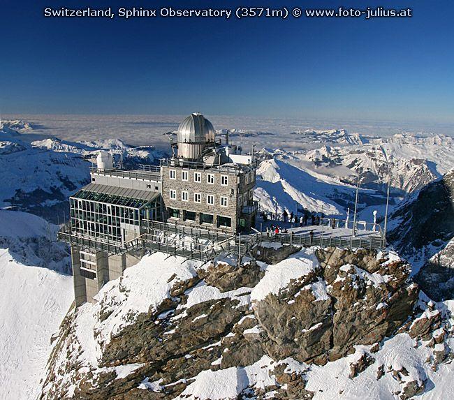 Sphinx Observatory, Switzerland | Architecture in 2019
