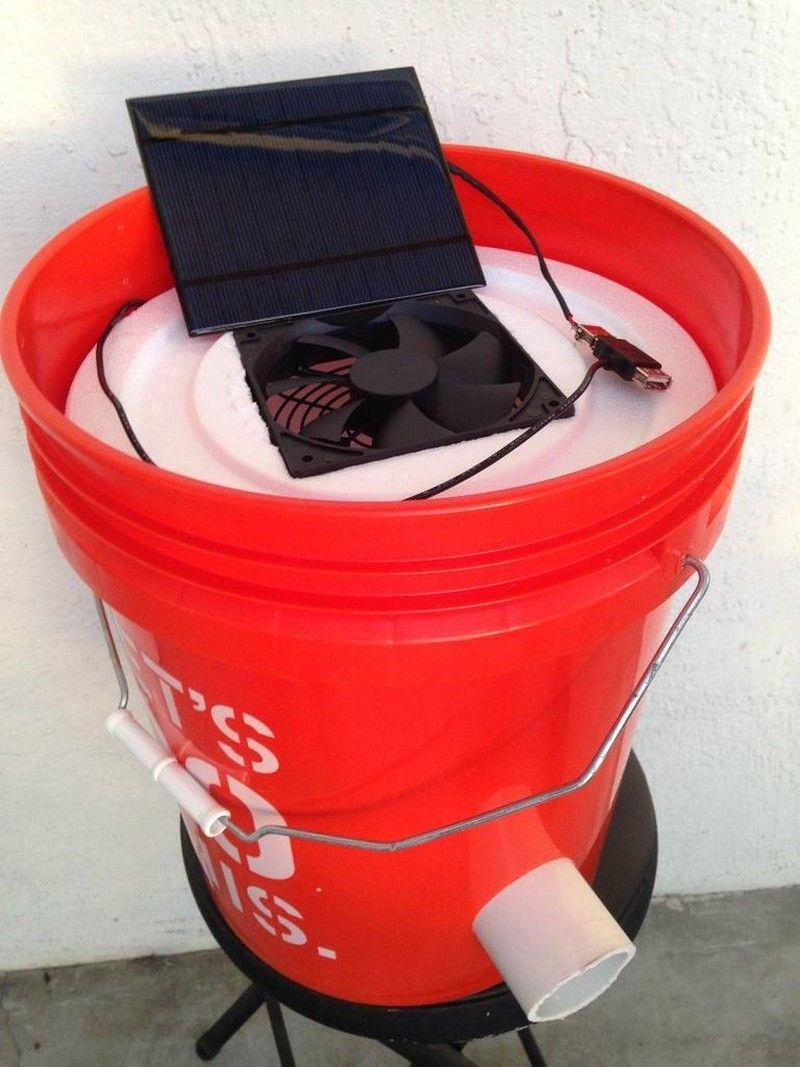 How to make a 5 gallon bucket air conditioner Diy air