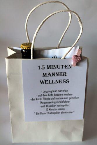 Diy 15 Minuten Manner Wellness Die Perfekte Geschenkidee Fur Manner Geschenke Wellness Geschenke Und Geschenkideen