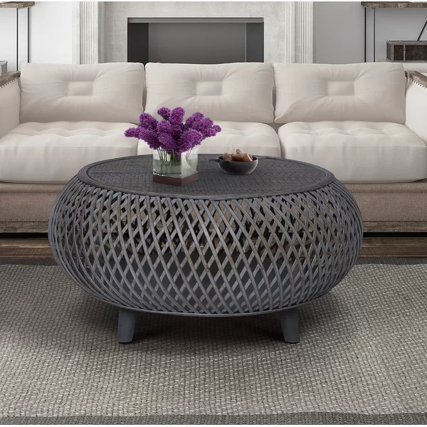 Kayden Coffee Table In 2020 Rattan Coffee Table Extendable Coffee Table Coffee Table Wood