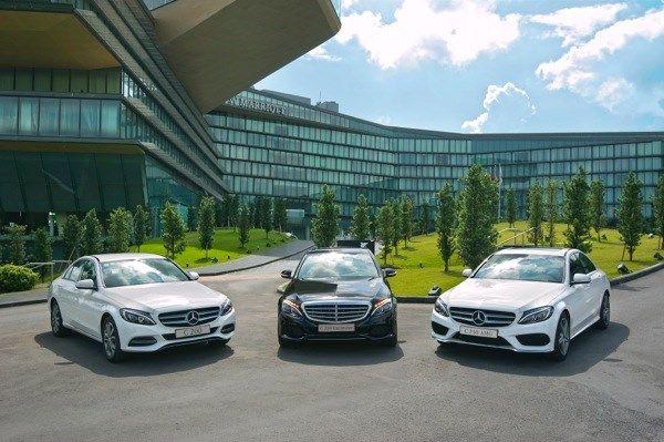 Giá Xe Mercedes C200 - 0945 777 077: Mercedes C-Class 2015: pha trộn thiết kế giữa E-Class và S-Class