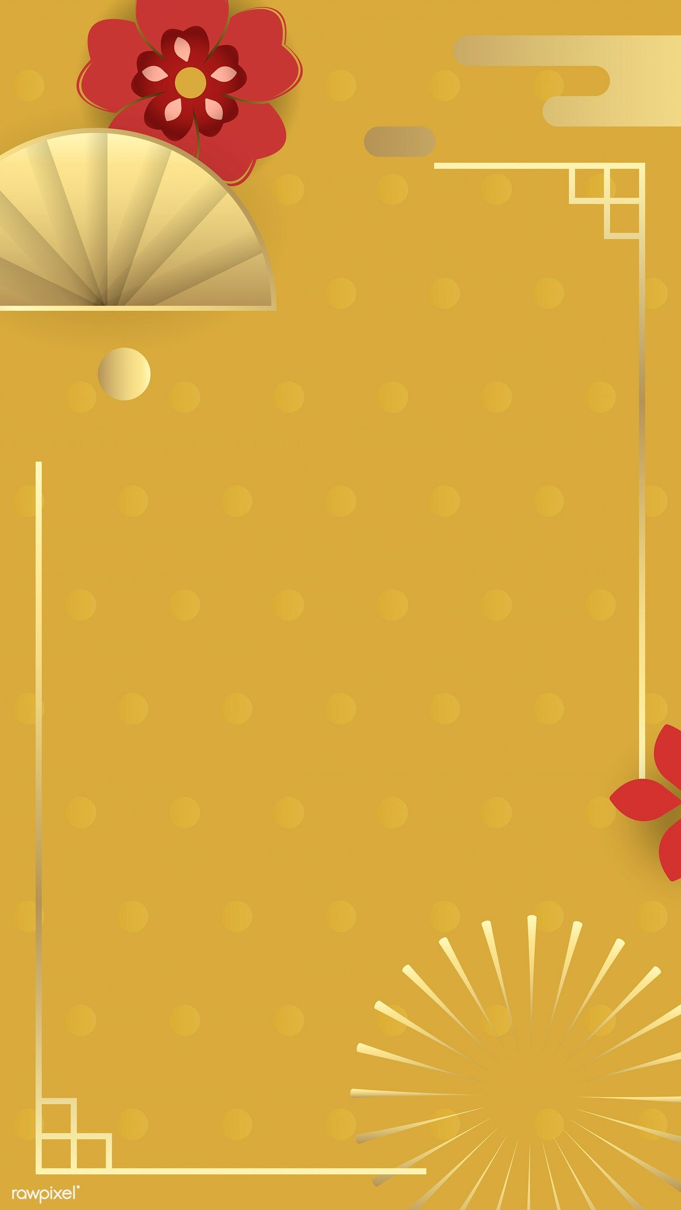 Download Premium Vector Of Happy Chinese New Year 2020 Phone Background In 2020 Happy Chinese New Year Chinese New Year 2020 Chinese New Year