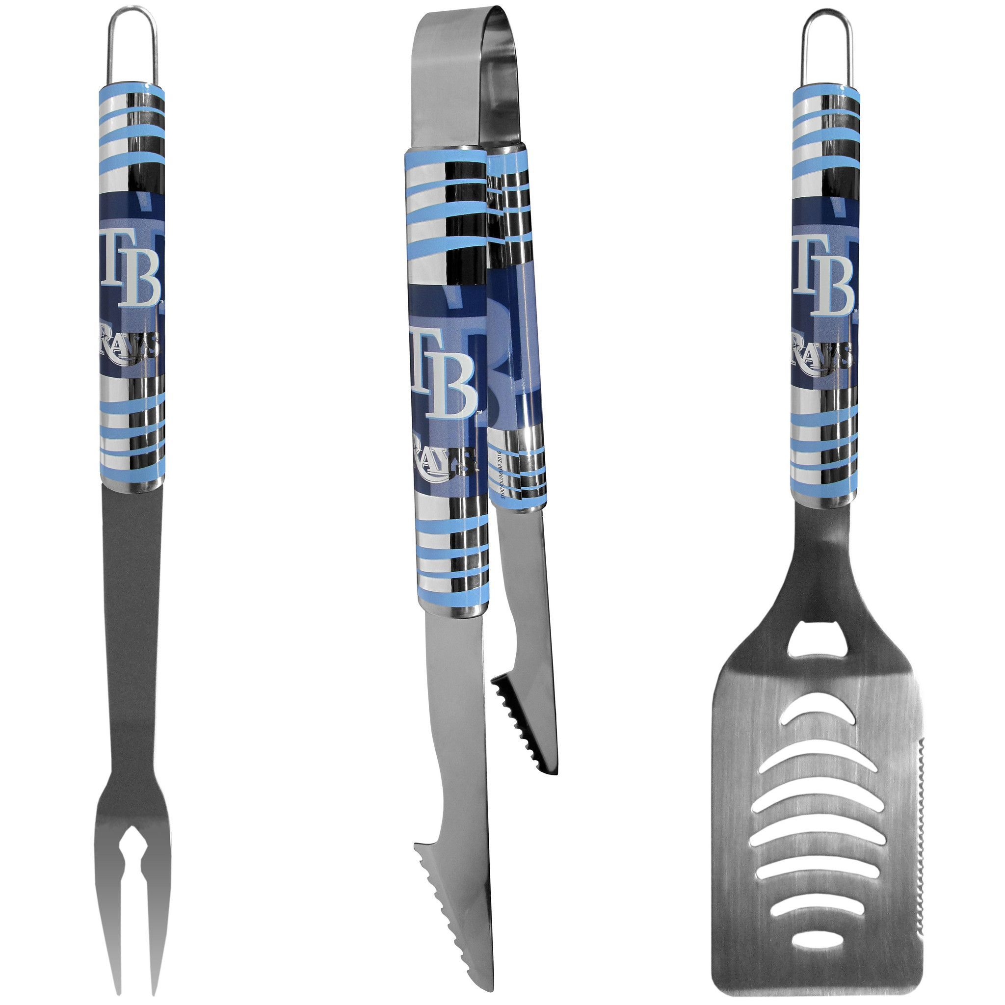 Tampa Bay Rays 3 pc Tailgater BBQ Set