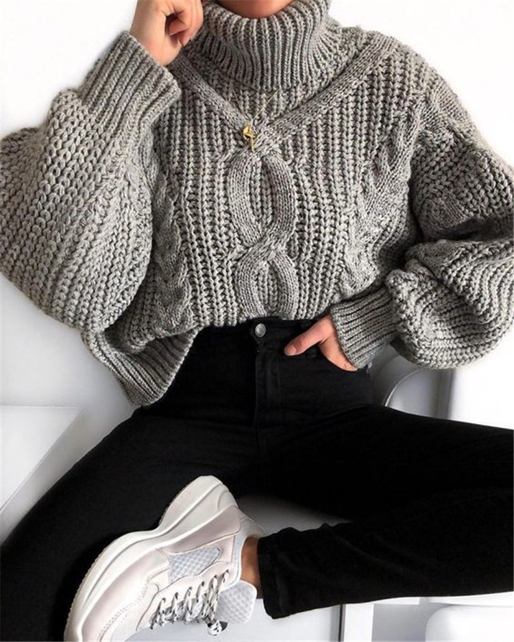 50 Chic And Casual Winter Outfits For Teen Girls Back To School - Page 43 of 50 - Women Fashi... - -