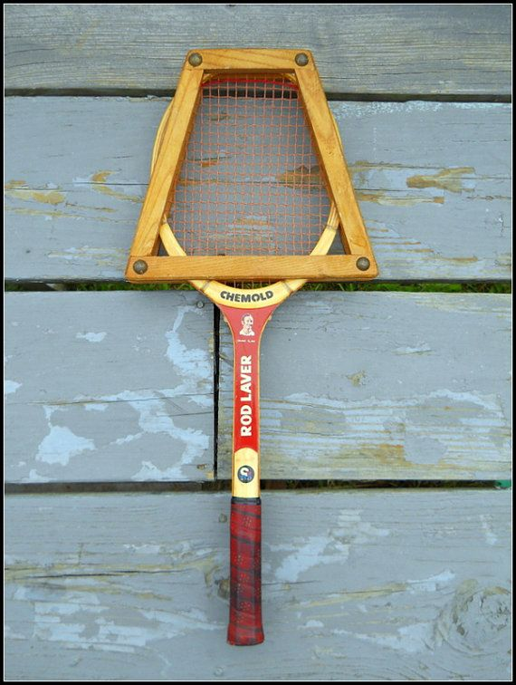 Chemold Rod Laver Grand Slam Wood Tennis Racket by wperry42, $49.00