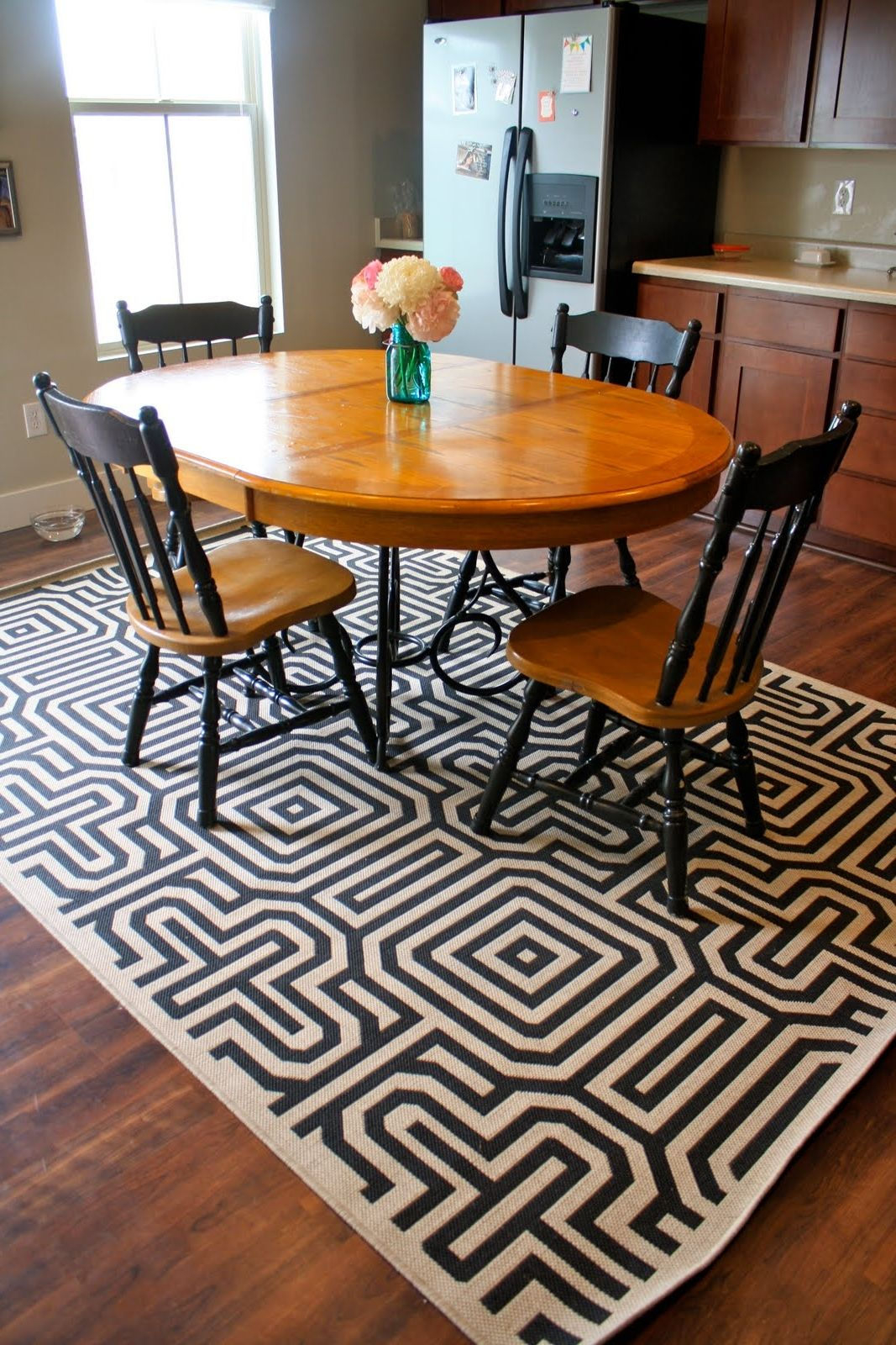 Round Kitchen Table 4 Piece Sets   Kitchen decor, Kitchen ...