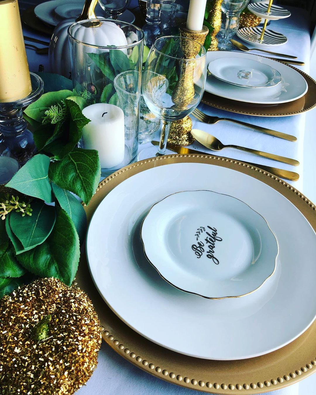Last year's fall tablescape. New tablescape coming soon!