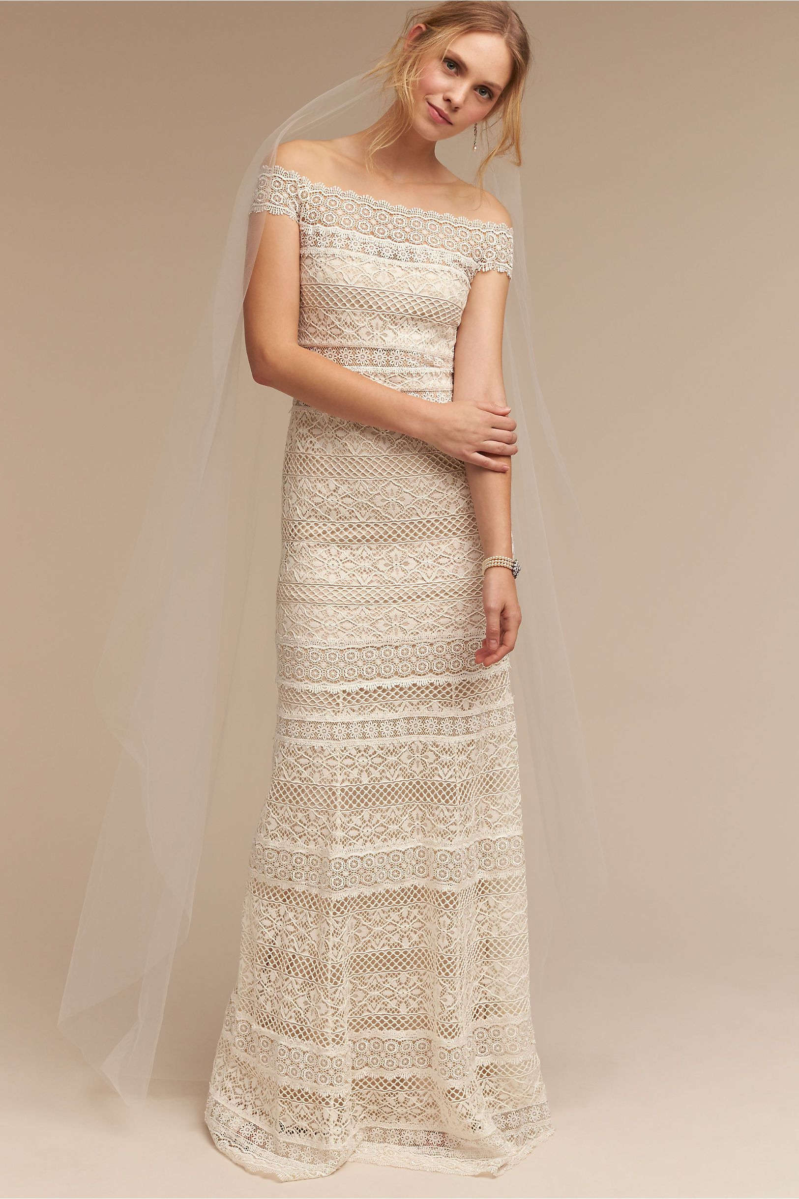 a06d13a5094f BHLDN Ivory Sky Mist Veil in Shoes & Accessories | BHLDN | McKey's ...