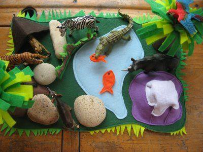 How I Made A Felt Dinosaur Play Mat For My Son Dinosaur Play Felt Play Mat Dinosaur Crafts