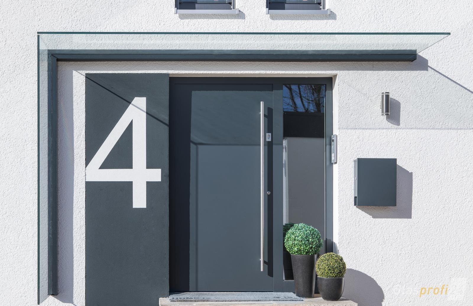 exklusives design f r ihren eingang mit dem vordach duravento home. Black Bedroom Furniture Sets. Home Design Ideas