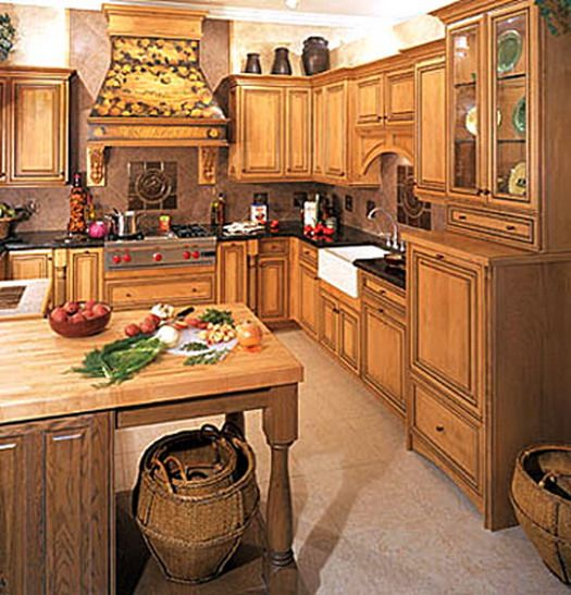 i have these honey oak colored cabinets im thinking of trimming them in