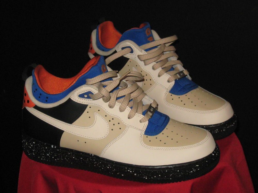 purchase cheap 95cb6 80e24 ... best price mens nike air force 1 comfort mowabb sz 10 sand dune blk  copperbrown 685159 ...