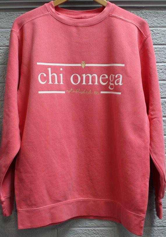 Comfort Color Sweatshirt With Press On Design By Universityshop