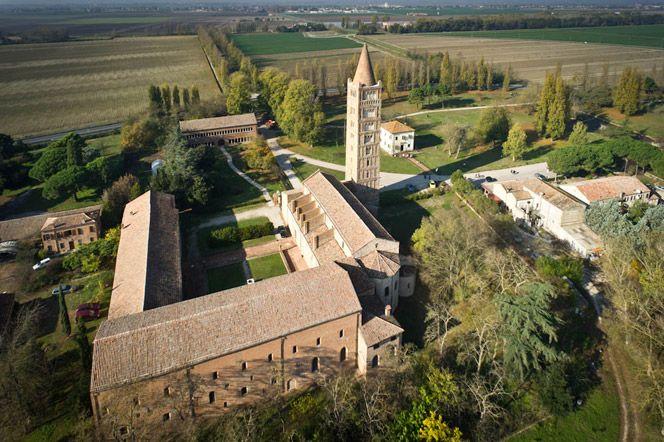 The Abbey of Pomposa, Ferrara. www.italianways.com/the-abbey-of-pomposa-and-guidos-music/