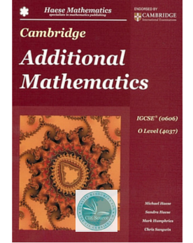 Additional Mathematics Textbook Pdf