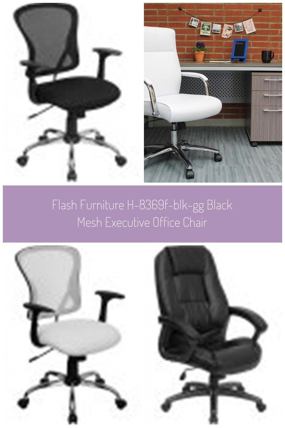 Flash Furniture H-8369F-BLK-GG Black Mesh Executive Office Chair #executive offi...,  #black ...,  #Black #Chair #Executive #executiveOfficeroom #Flash #Furniture #H8369FBLKGG #Mesh #offi #Office