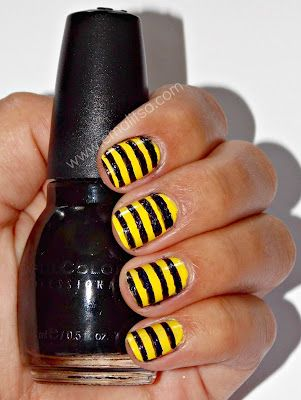 Emalitsa: Bumblebee Stripes