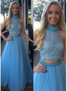 Modern Off-the-shoulder Mermaid Tulle Evening Dress Floor-length Lace - Products - 27DRESS.COM