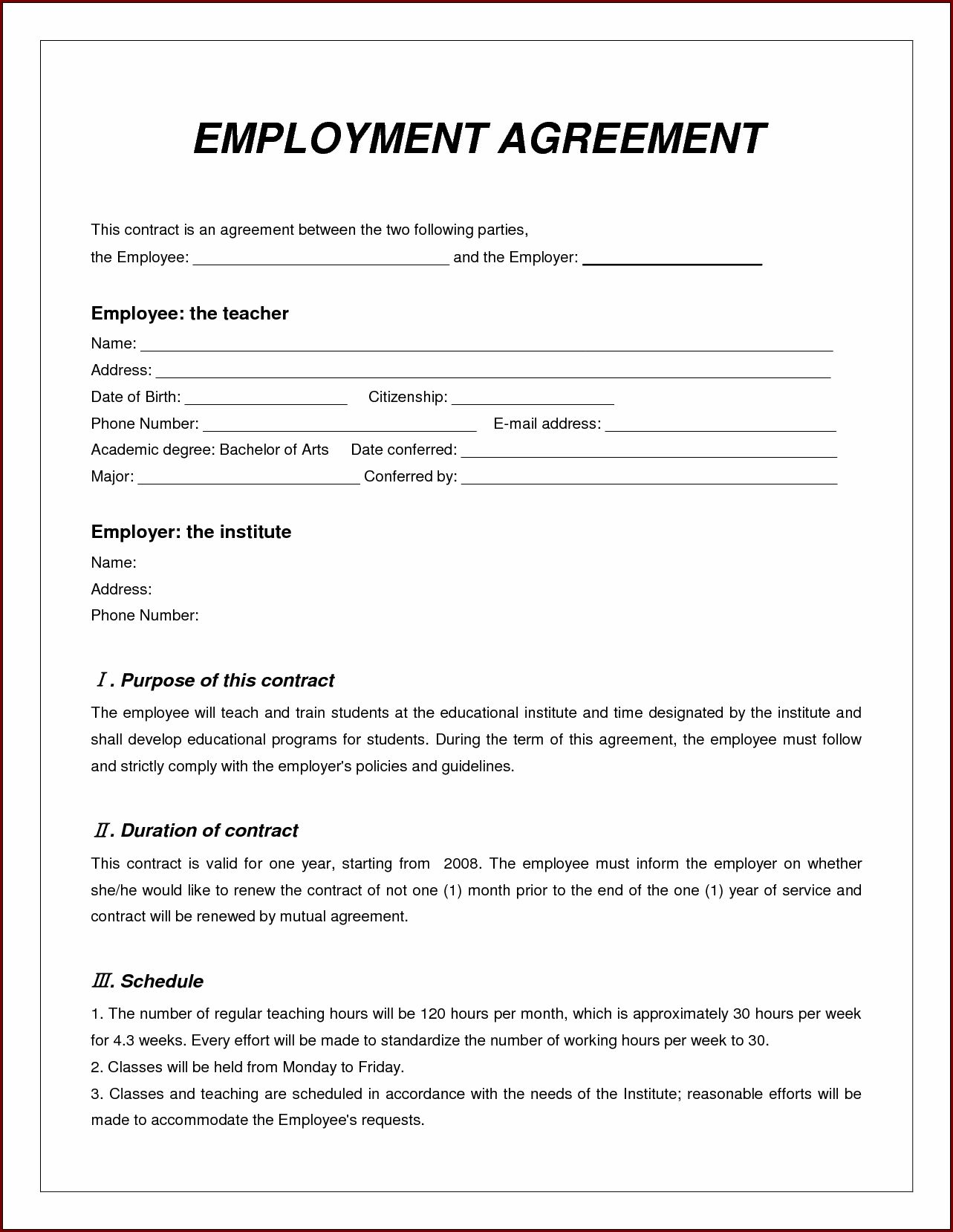 Pin by Tony Nunziato on Contract Templates Work