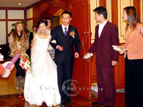 Chinese Wedding China Traditional Clothe