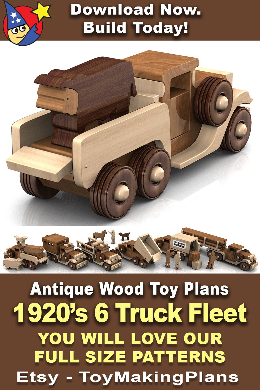 Antique 1920s six truck fleet 5 pdf download em 2020